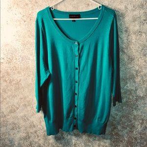 Lane Bryant size 18/20 button up cardigan
